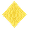 Tissue Diamond Yellow, party supplies, decorations, The Beistle Company, General Occasion, Bulk, General Party Decorations, Tissue Diamond
