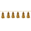 Metallic Tassel Garland Gold, party supplies, decorations, The Beistle Company, General Occasion, Bulk, General Party Decorations, Party Garland