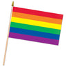 Rainbow Flag - Fabric, party supplies, decorations, The Beistle Company, Rainbow, Bulk, Other Party Themes, Rainbow
