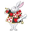 Jointed White Rabbit, party supplies, decorations, The Beistle Company, Alice In Wonderland, Bulk, Other Party Themes, Alice in Wonderland