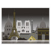 Paris Cityscape Insta-Mural, party supplies, decorations, The Beistle Company, French, Bulk, Other Party Themes, Olympic Spirit - International Party Themes, French Themed Decorations
