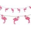 Flamingo String Lights, party supplies, decorations, The Beistle Company, Luau, Bulk, Luau Party Supplies, Luau Party Decorations, Miscellaneous Luau Party Decorations