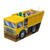 3-D Dump Truck Centerpiece, party supplies, decorations, The Beistle Company, Construction, Bulk, Birthday Party Supplies, Birthday Party Decorations, Birthday Party Centerpieces