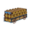 3-D Beer Wagon Centerpiece, party supplies, decorations, The Beistle Company, Oktoberfest, Bulk, Holiday Party Supplies, Oktoberfest Party Supplies