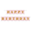 Beistle Foil Happy Birthday Streamer (Pack of 12) - Popular Themes, Sweet Sixteen Party Theme
