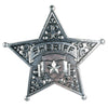 Metal Sheriff Badge, party supplies, decorations, The Beistle Company, Western, Bulk, Western Party Theme, Western Stuff to Wear