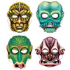 Alien Masks, party supplies, decorations, The Beistle Company, Space, Bulk, Other Party Themes, Space Themed Party Supplies