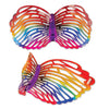 Rainbow Butterfly Glasses, party supplies, decorations, The Beistle Company, Spring/Summer, Bulk, Spring-Summer Theme, Butterflies Decorations