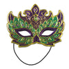 Mardi Gras Costume Mask, party supplies, decorations, The Beistle Company, Mardi Gras, Bulk, Holiday Party Supplies, Mardi Gras Party Supplies, Mardi Gras Stuff to Wear, Mardi Gras Masks