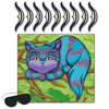 Pin The Smile On The Cheshire Cat Game, party supplies, decorations, The Beistle Company, Alice In Wonderland, Bulk, Other Party Themes, Alice in Wonderland