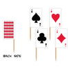 Playing Card Picks - assorted designs
