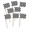Racing Party Supplies - Racing Flag Picks