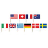 Party Supplies - International Flag Picks