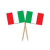 Party Supplies - Italian Flag Picks
