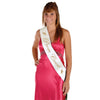 Back to School Decorations - Prom Court Satin Sash