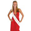 Back to School Decorations - Prom Queen Satin Sash