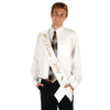 Back to School Decorations - Prom King Satin Sash