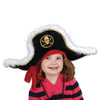 Pirate Party Supplies - Plush Pirate Captain's Hat - Child