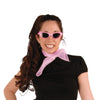 Rock & Roll Party Supplies: Pink Chiffon Scarf
