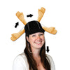 Football Party Supplies: Plush Touchdown Cap
