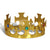 Plastic Jeweled King's Crown gold (12ct)