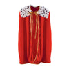 Party Accessories - Child King/Queen Robe - red