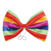 Jumbo Rainbow Bow Tie, party supplies, decorations, The Beistle Company, Rainbow, Bulk, Other Party Themes, Rainbow