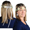 Beistle Daisy Headband (Pack of 12) - 60's - 70's - 80's Theme