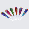 Prismatic Party New Years Party Horns - assorted colors