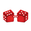 Casino Party Supplies - Red Dice Fanci-Frames