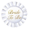 Wedding Supplies - Bride To Be Satin Button