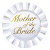 Wedding Supplies - Mother Of The Bride Satin Button