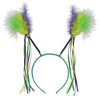 Feathers & Ribbons Mardi Gras Boppers