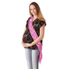 Mom To Be Satin Sash, pink