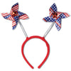 4th of July Party Supplies: Patriotic Pinwheel Boppers