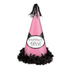 Fringed Foil Birthday Diva Party Hat
