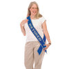 Beistle Retired Now The Fun Begins! Satin Sash (Pack of 6) - Retirement Party Supplies