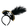 Pirate Hat Headband (Pack of 12)