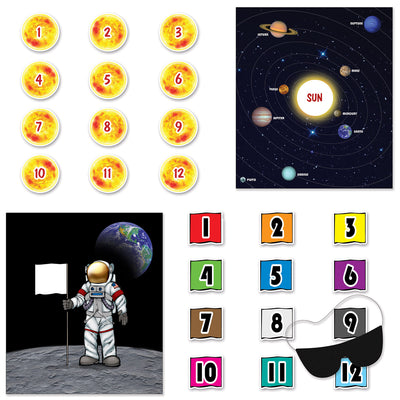Space Party Games (Pack of 48)