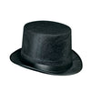 Dura-Form Vel-Felt Top Hat - black