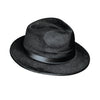 Casino Party Supplies - Dura-Form Vel-Felt Fedora - black