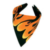 Motorcycle Party Supplies - Flame Bandana