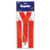 Roaring 20's Party Supplies - Red Suspenders - adjustable