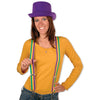 Mardi Gras Suspenders - adjustable