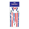 Patriotic Suspenders - adjustable