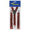 Sequined Suspenders - Casino Party Stuff To Wear