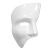 Phantom Mask White, party supplies, decorations, The Beistle Company, General Occasion, Bulk, Holiday Party Supplies, Mardi Gras Party Supplies, Mardi Gras Stuff to Wear, Mardi Gras Masks