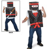 Plastic 8-Bit Ninja Vest, party supplies, decorations, The Beistle Company, 8-Bit, Bulk, Other Party Themes, 8-Bit Party Supplies