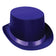 Party Costume Satin Sleek Top Hat (Case of 6)