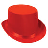 Party Costume Accessories: Satin Sleek Top Hat